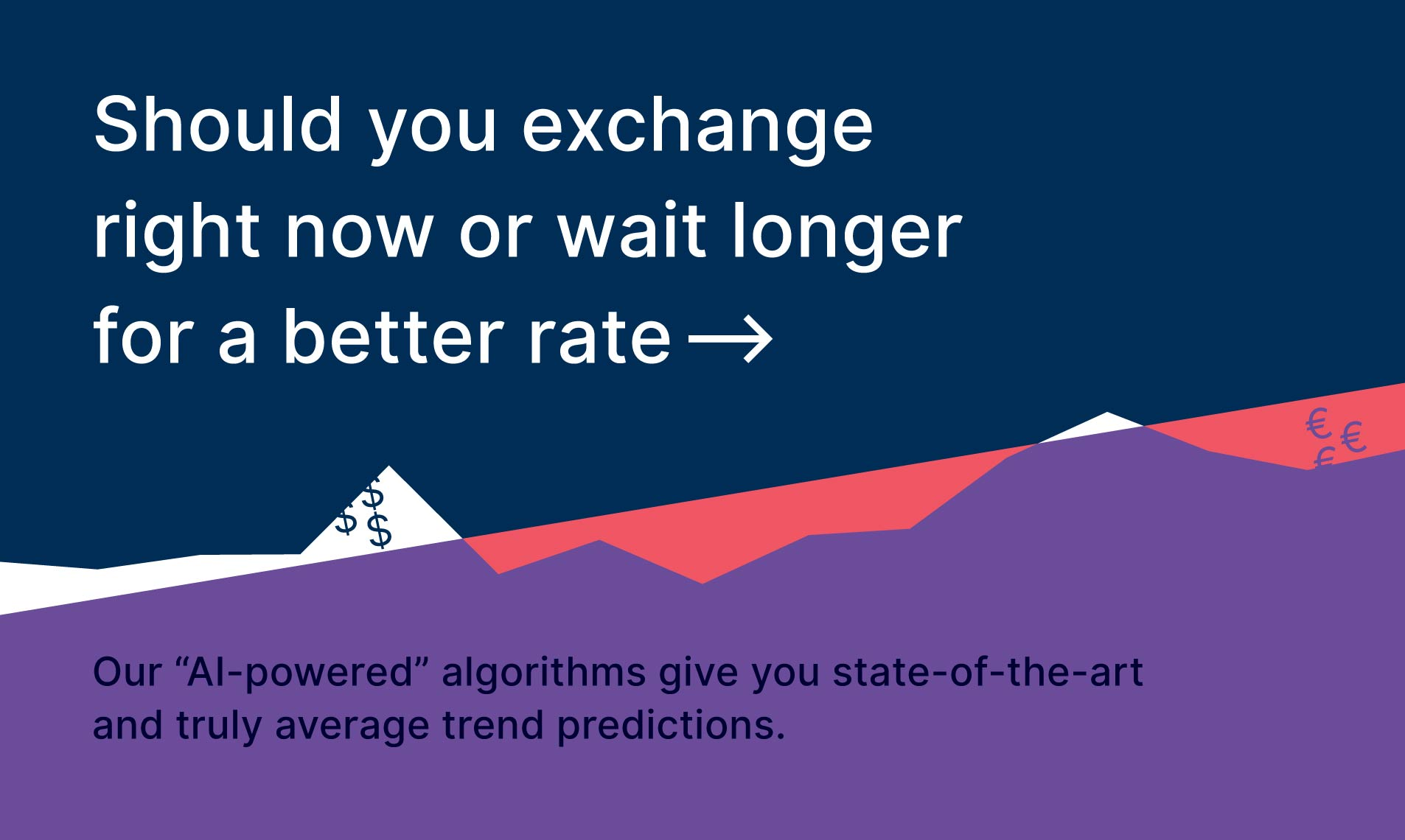 Should you exchange right now or wait longer for a better rate.